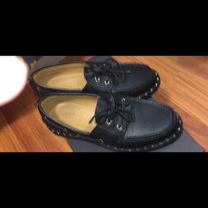 Black Valentino Studded Shoes